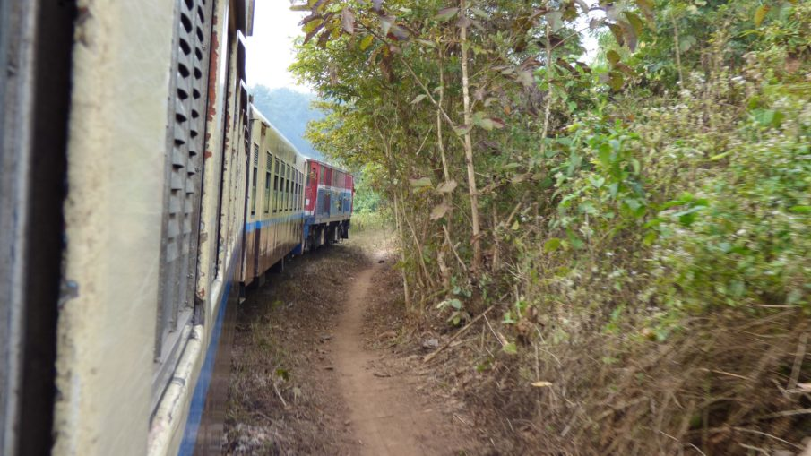 railroad Track between Lashio and Hsipaw