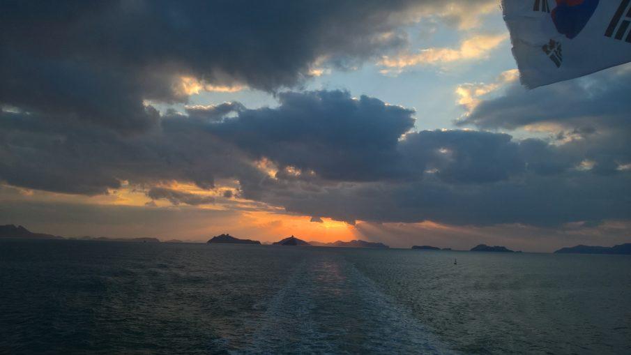 Ferry from Jeju to Mokpo
